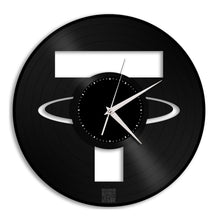 Tether Coin Vinyl Wall Clock - VinylShop.US