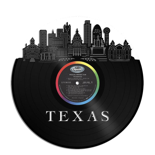 Texas Vinyl Wall Art - VinylShop.US