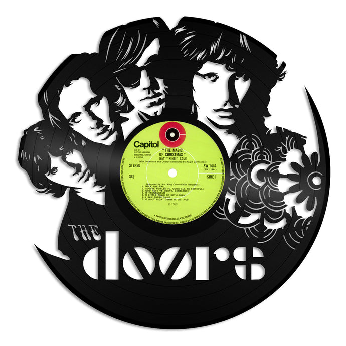 The Doors Vinyl Wall Art - VinylShop.US