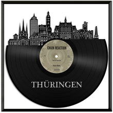 Thuringia Skyline Vinyl Wall Art - VinylShop.US