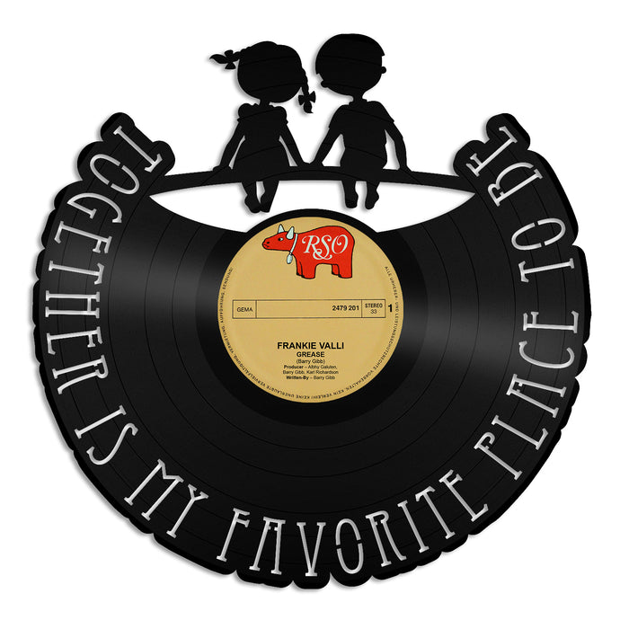 Together Is My Favorite Place to Be Vinyl Wall Art
