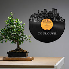 Toulouse, France Skyline Vinyl Wall Art - VinylShop.US