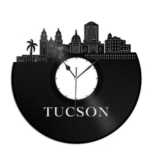 Tucson Arizona Vinyl Wall Clock - VinylShop.US