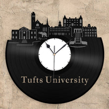Tufts University Vinyl Wall Clock - VinylShop.US