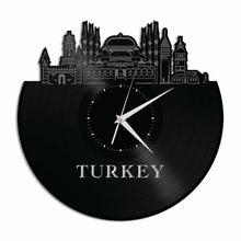Turkey Vinyl Wall Clock