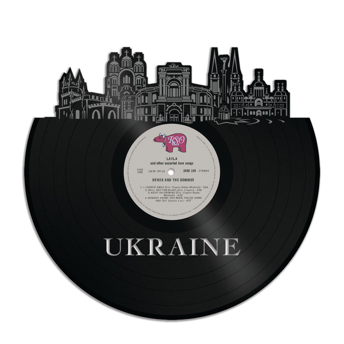 Ukraine Vinyl Wall Art
