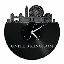 United Kingdom Vinyl Wall Clock