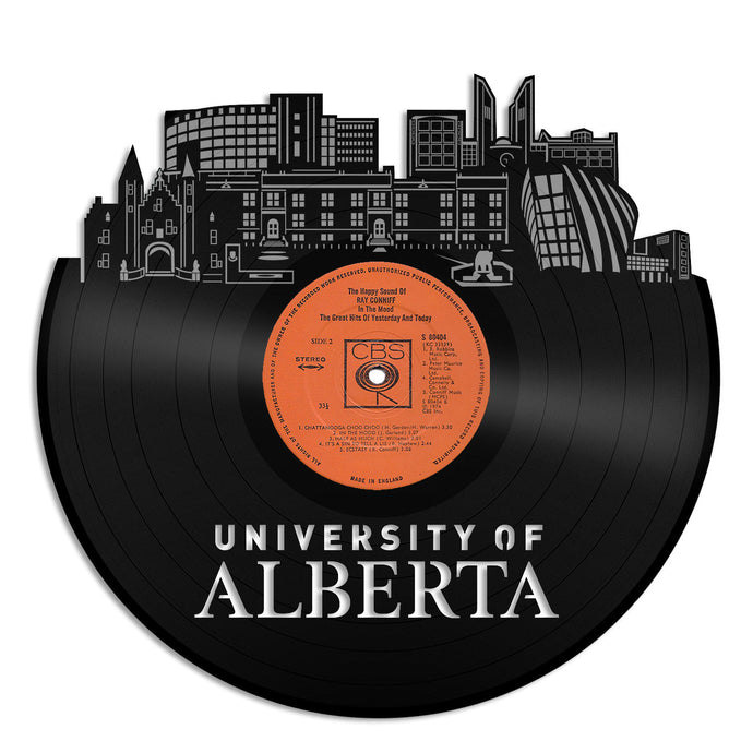 University of Alberta Vinyl Wall Art - VinylShop.US