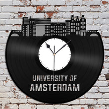 University of Amsterdam Vinyl Wall Clock - VinylShop.US