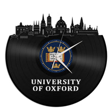 Oxford University Vinyl Wall Clock - VinylShop.US