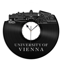 University of Vienna Vinyl Wall Clock - VinylShop.US
