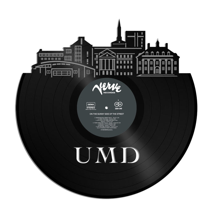 University of Maryland UMD Vinyl Wall Art