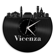 Unique Vinyl Wall Clock VICENZA