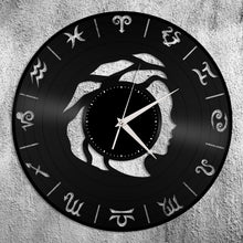 Virgo Vinyl Wall Clock - VinylShop.US