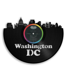 Washington DC Skyline Vinyl Wall Art - VinylShop.US
