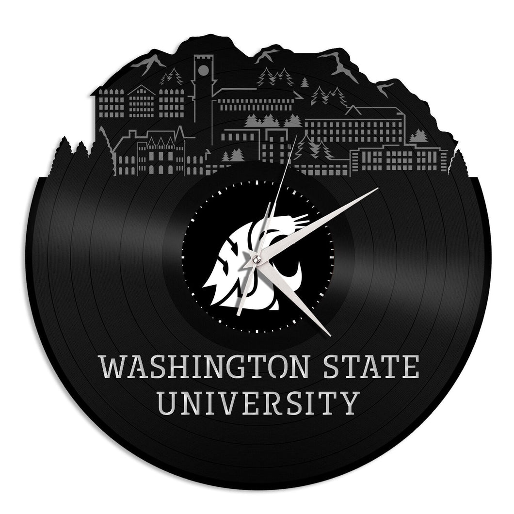 Washington State University Vinyl Wall Clock - VinylShop.US