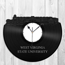 West Virginia State University Vinyl Wall Clock - VinylShop.US