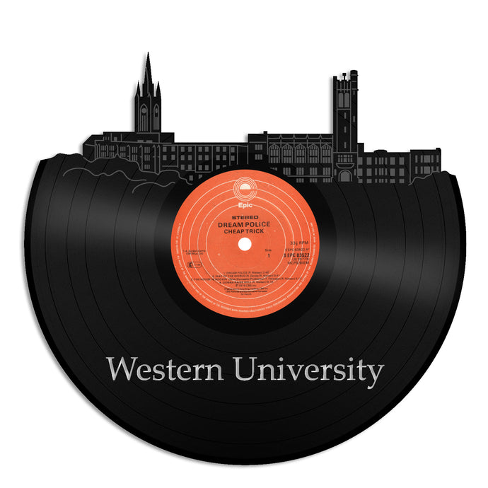 Western University, Canada Vinyl Wall Art - VinylShop.US