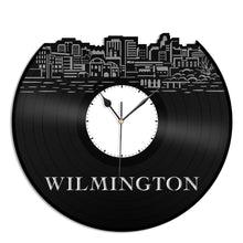 Wilmington DE Vinyl Wall Clock