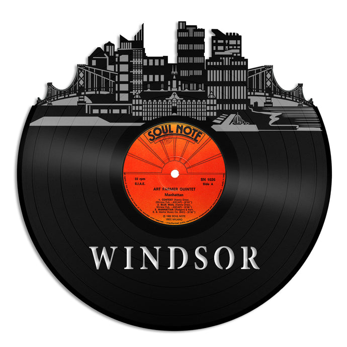 Windsor Skyline Vinyl Wall Art - VinylShop.US