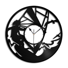 Windsurf Vinyl Wall Clock
