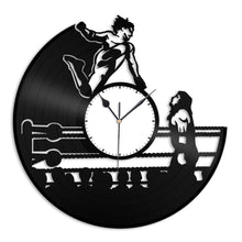 Wrestling Vinyl Wall Clock