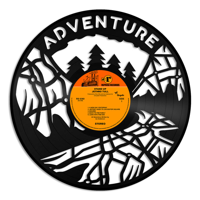 Adventure Vinyl Wall Art