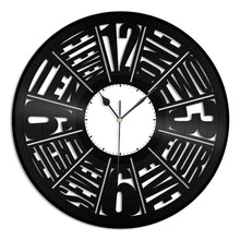 Antiquity Vinyl Wall Clock