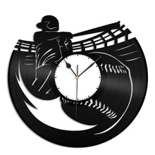 Baseball Vinyl Wall Clock - VinylShop.US