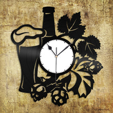 Wine Design Vinyl Wall Clock - VinylShop.US
