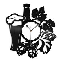Beer Design Vinyl Wall Clock - VinylShop.US