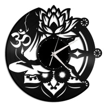 Buddhism Vinyl Wall Clock