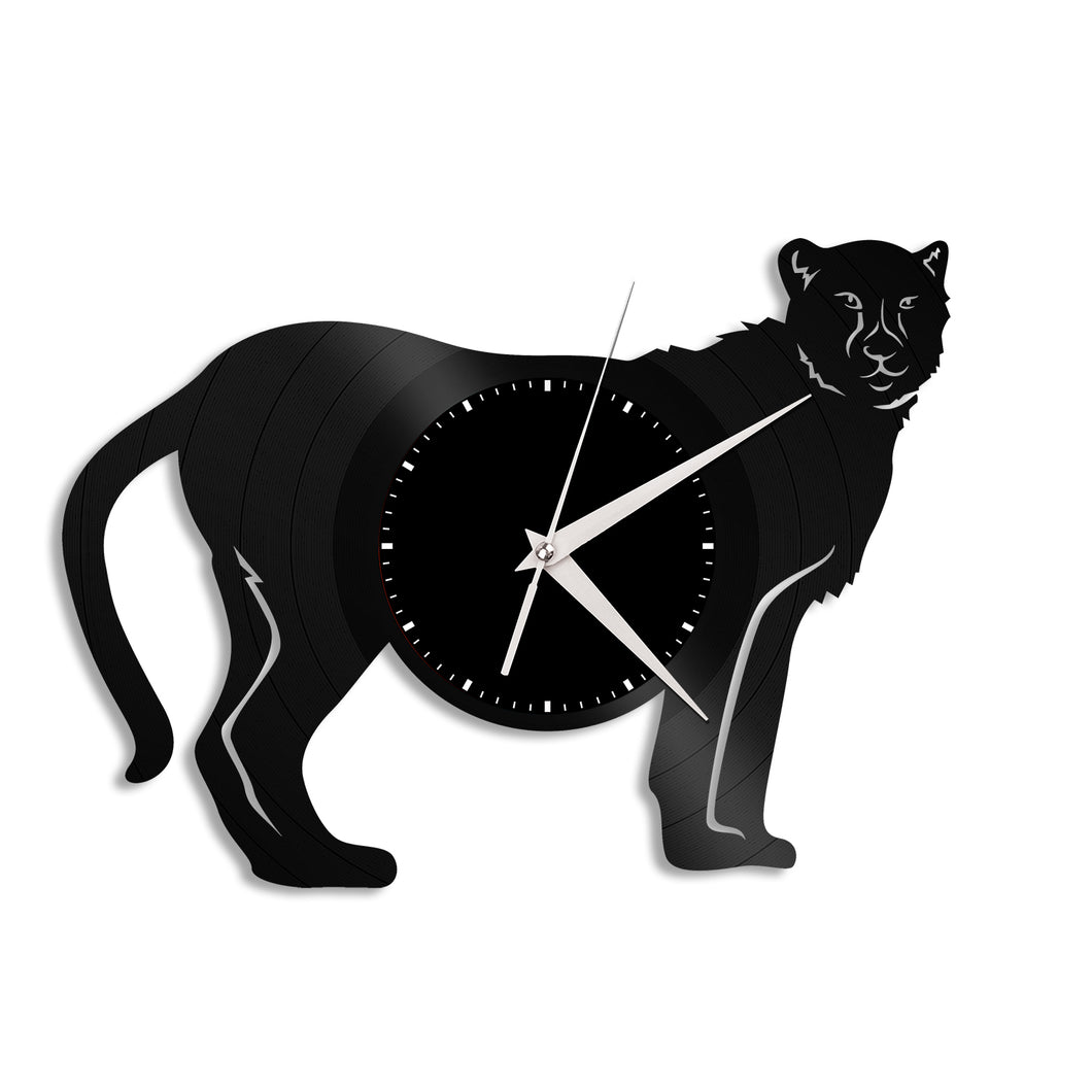 Cheetah Vinyl Wall Clock - VinylShop.US