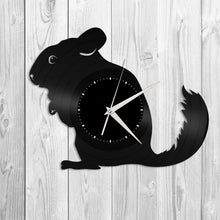Chinchilla Vinyl Wall Clock - VinylShop.US
