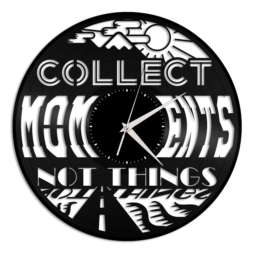 Collect Moments Vinyl Wall Clock