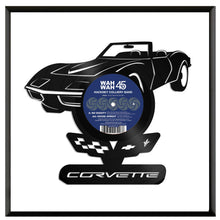 Corvette Vinyl Wall Art