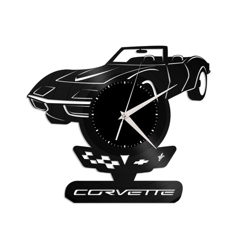 Corvette Vinyl Wall Clock - VinylShop.US