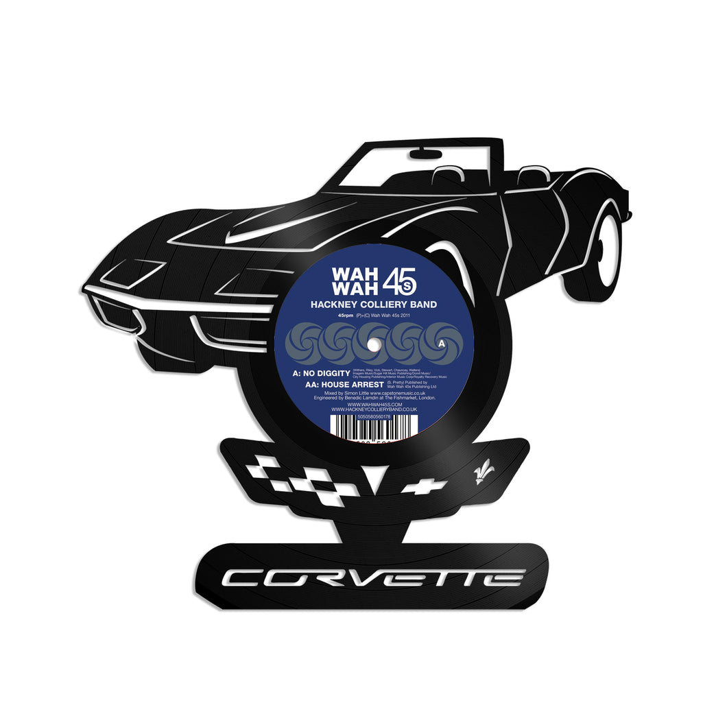 Corvette Vinyl Wall Art - VinylShop.US