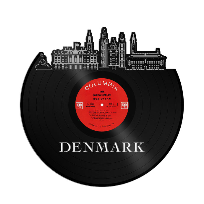Denmark Vinyl Wall Art