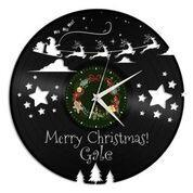Christmas Vinyl Wall Clock - VinylShop.US