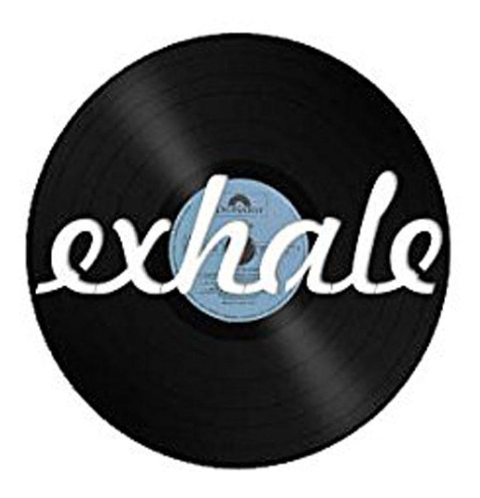 Exhale Vinyl Wall Art - VinylShop.US