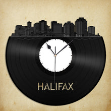 Halifax Skyline Vinyl Wall Clock - VinylShop.US