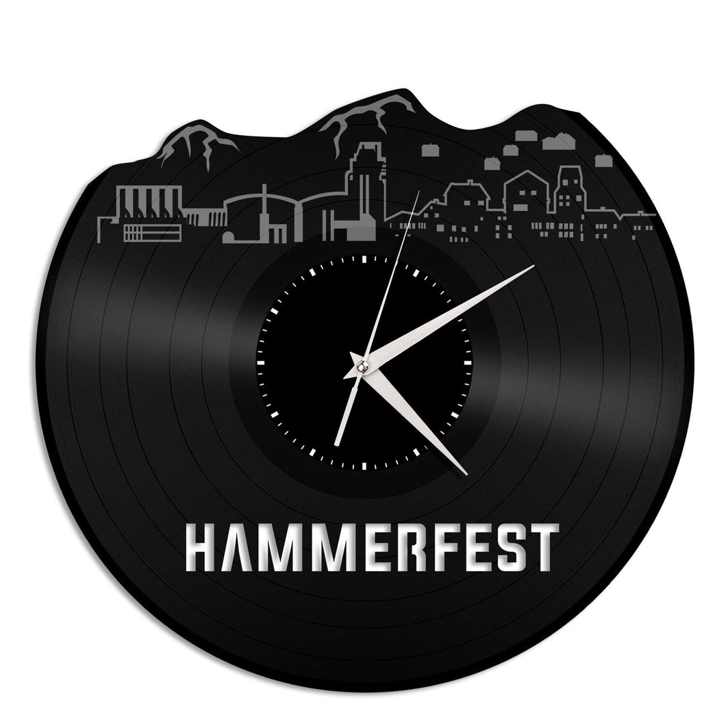 Hammerfest Norway Vinyl Wall Clock - VinylShop.US