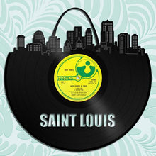 Saint Louis Skyline Vinyl Wall Art - VinylShop.US