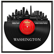 Washington DC Skyline Vinyl Wall Art Updated - VinylShop.US