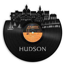 Hudson Skyline Wall Art - VinylShop.US
