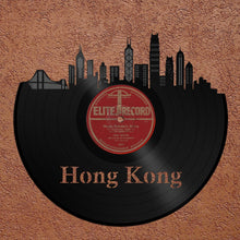 Hong Kong Skyline Vinyl Wall Art - VinylShop.US