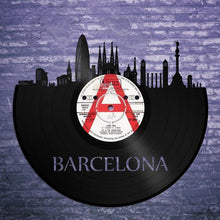 Barcelona Skyline Vinyl Wall Art - VinylShop.US