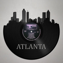 Atlanta Skyline Vinyl Wall Art - VinylShop.US
