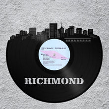 Richmond Art, Virginia State, Richmond Skyline, Best Wedding Gifts 2017, Father Of The Bride Gifts From Daughter, From Groom, From Son - VinylShop.US
